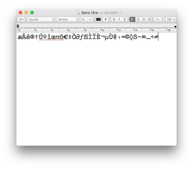 Taper les accents sur Mac caracteres speciaux