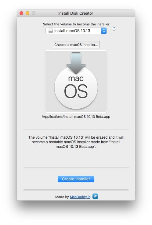 installation propre macOS High Sierra cle usb bootable