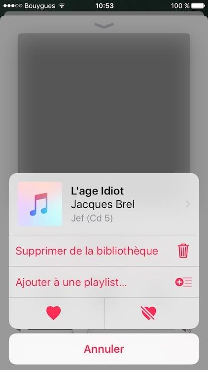 Supprimer toute la musique sur un iPhone supprimer de la bibliotheque