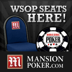Mansion Poker WSOP seats