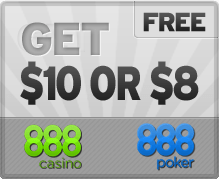 888 Free Poker and Casino Money