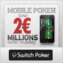 Win 2 Million with Switch Poker via MacPokerOnline