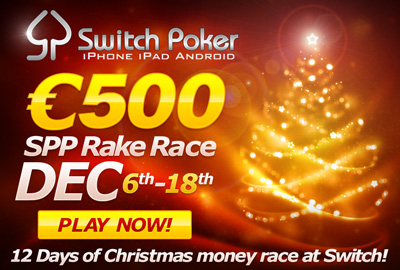 Switch-Mobile-Poker-Xmas-Rake-Race