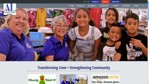 Assistance League of Hawaii's Home Page
