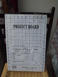 project board, macrame projects