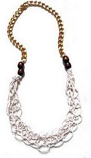 macrame necklace pattern