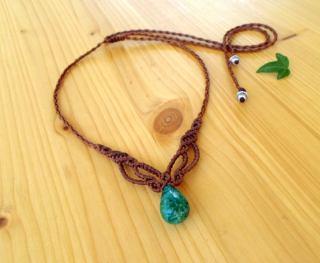 How to make macrame jewelry , bracelet patterns, macrame necklace 3