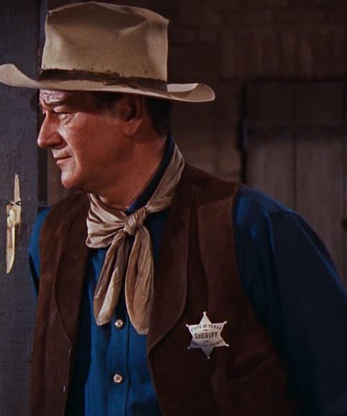 john Wayne sheriff