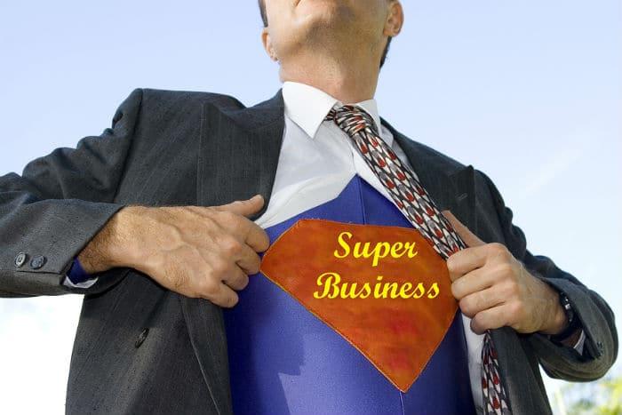 super business cible client