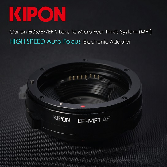 KIPON release worlds first Canon EF-MFT autofocus electronic adapter