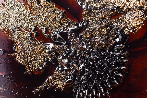 Iron Filings and FerroFluid
