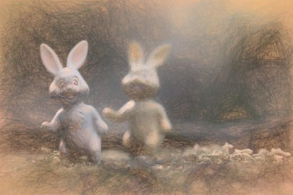 Easter Bunny Sketch