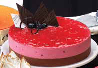 Torta trifle bicolor