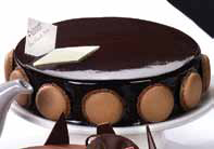 Torta marquisse de chocolate
