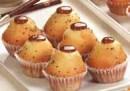 Mini muffin de vainilla relleno con dulce de leche