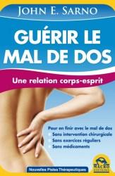 Couverture du livre du professeur John Sarno intitulé Guérir le mal de dos