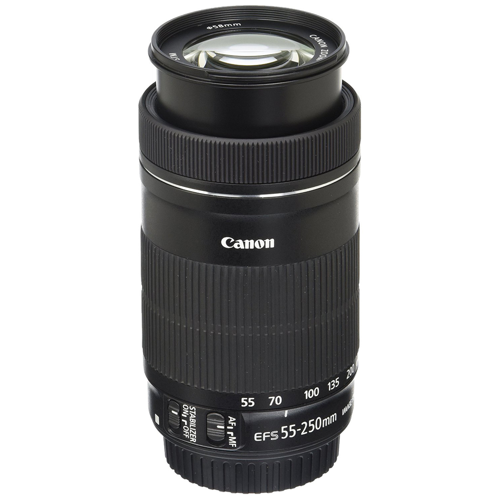 Canon EF-S 55-250mm F4-5.6 IS STM Lens