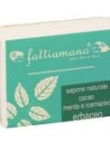 Sapone Naturale Vegano Cacao, Menta e Rosmarino