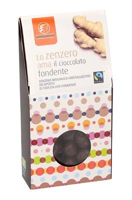 Zenzero Bio Ricoperto di Cioccolato Fondente