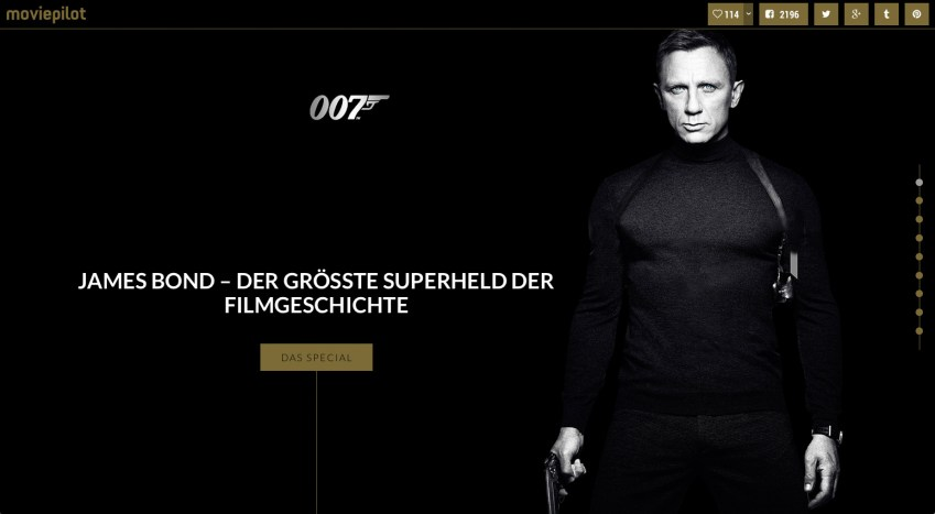 James Bond Dossier - Artikel von moviepilot