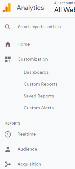 SEO Custom reports