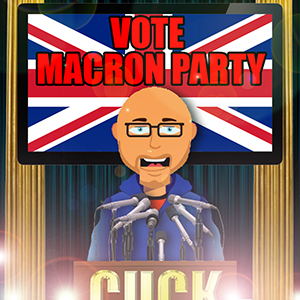 Vote For The Macron Party - 06/10/17