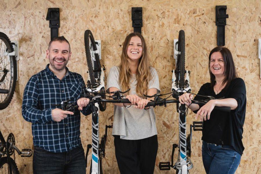 The Macs Bike team