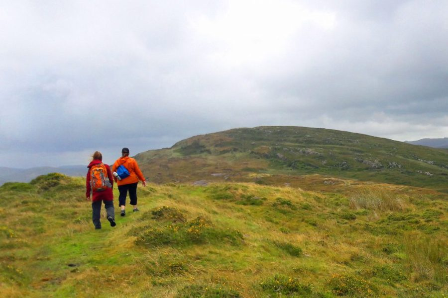 Walkers on the Sheep's Head Way