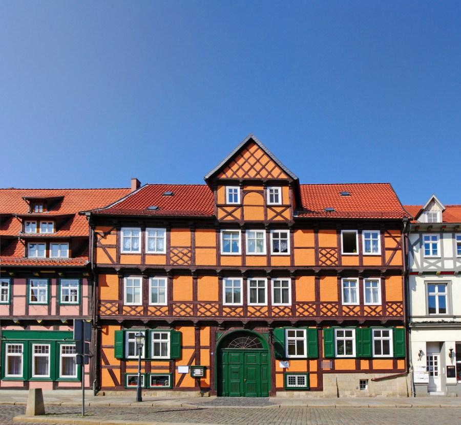Quedlinburg Houses