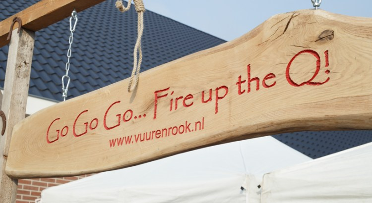 Chuck wagon cooking Vuur en Rook