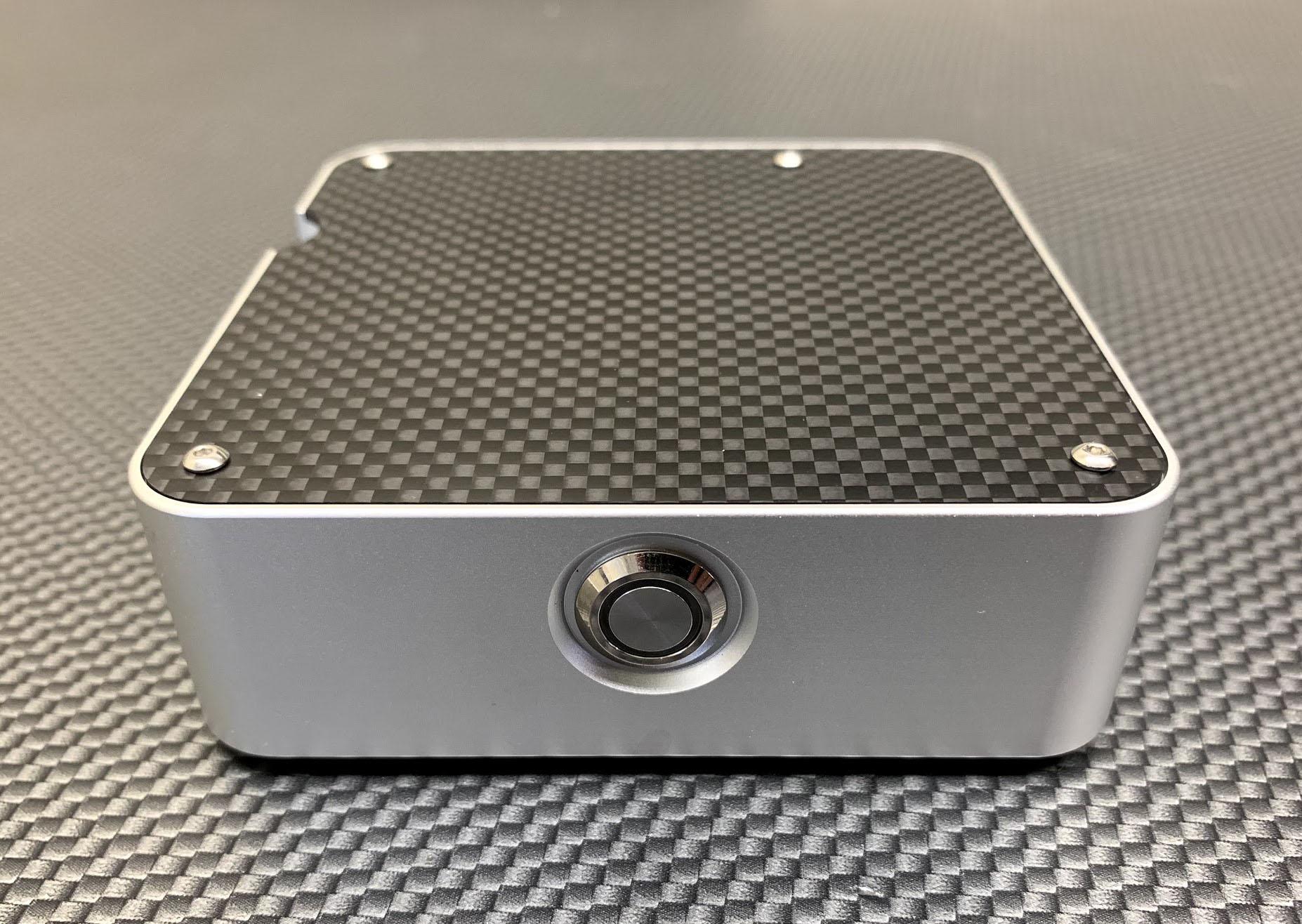 McPi Carbon Fiber & Aluminum Racing Raspberry Pi Case
