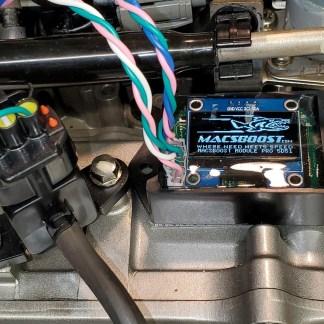 macsboost module installed on sub airbox aquatrax