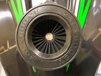 macsboost sxr 1500 j1928 intake air filter