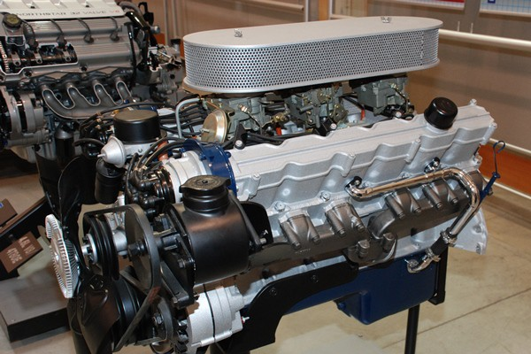 Cadillac V12 left front view