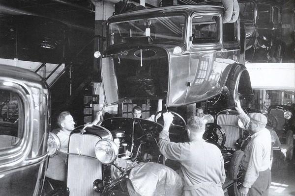 1932 Ford body drop