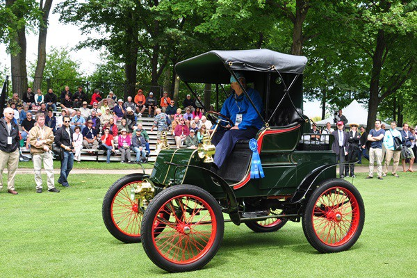 1901 Packard Model C Runabout Off Brothers Collection