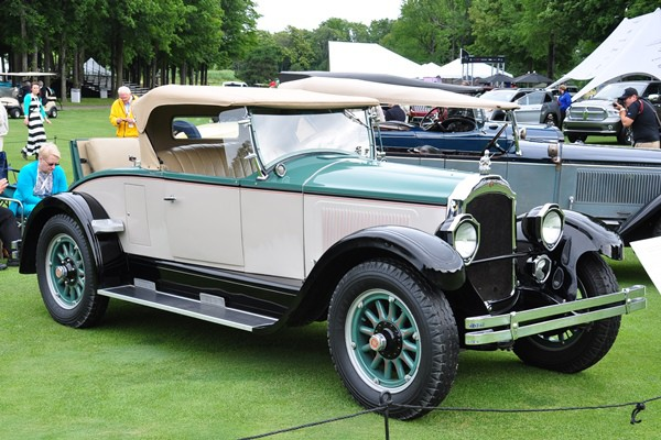 1926 Willys-Knight 66 Roadster Jerry and Helen Szostak