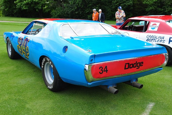 1972 Bob Brevak Dodge Charger Milton and Pam Wood rear