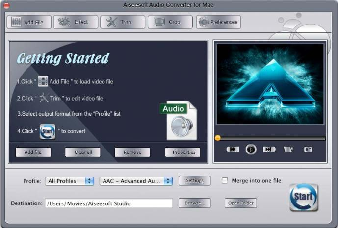 Aiseesoft Audio Converter mac