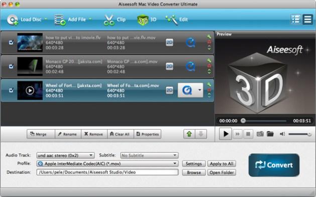 Aiseesoft Mac Video Converter Ultimate mac
