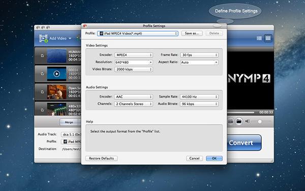 AnyMP4 MOD Converter mac