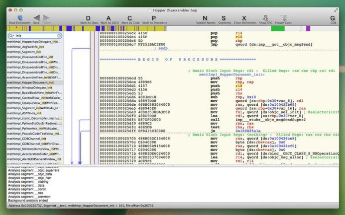 Hopper Disassembler mac