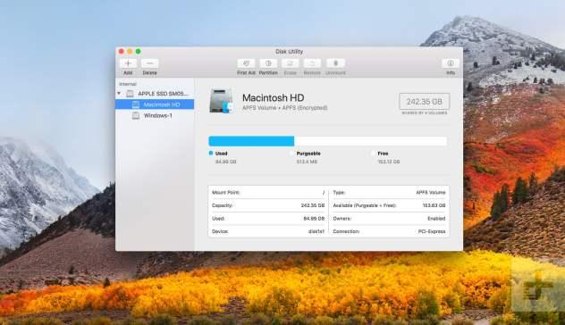 macOS High Sierra mac
