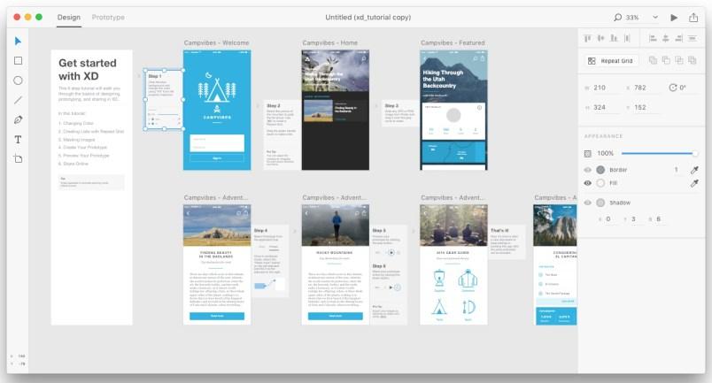 Adobe Experience Design CC mac