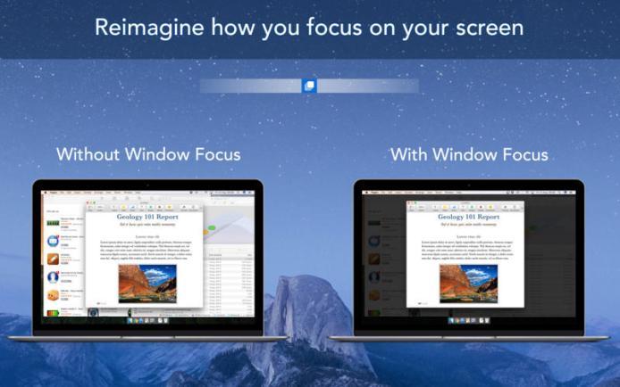 Window Focus mac