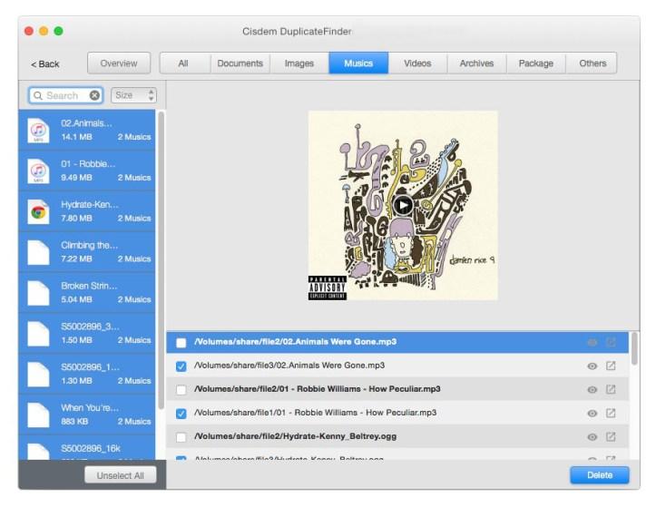 CISDEM DuplicateFinder mac