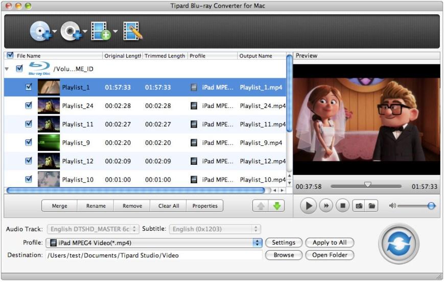 Tipard Blu-ray Converter mac