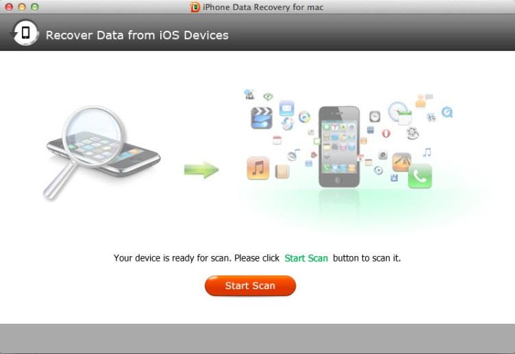 UltData iPhone Data Recovery mac