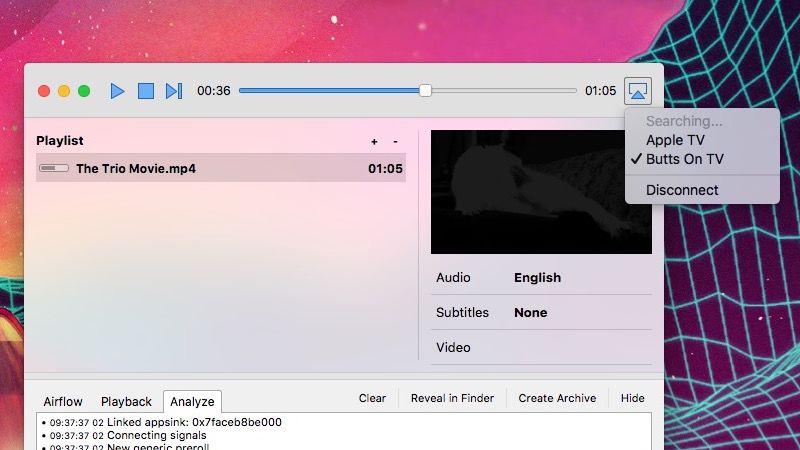Airflow mac