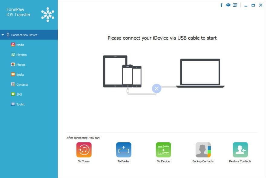 FonePaw iOS Transfer for mac